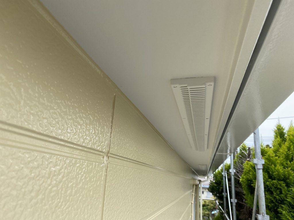 検査 外壁 窯業サイディング 軒天井