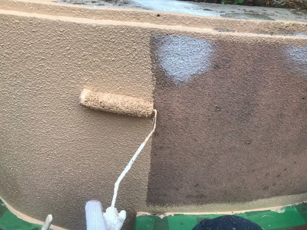 塀塗装 下塗り ファインパーフェクトトップ