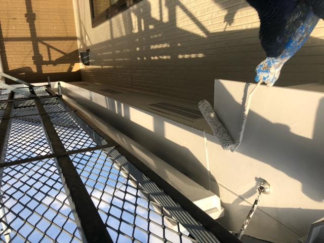 付帯部塗装 破風 ファインパーフェクトトップ