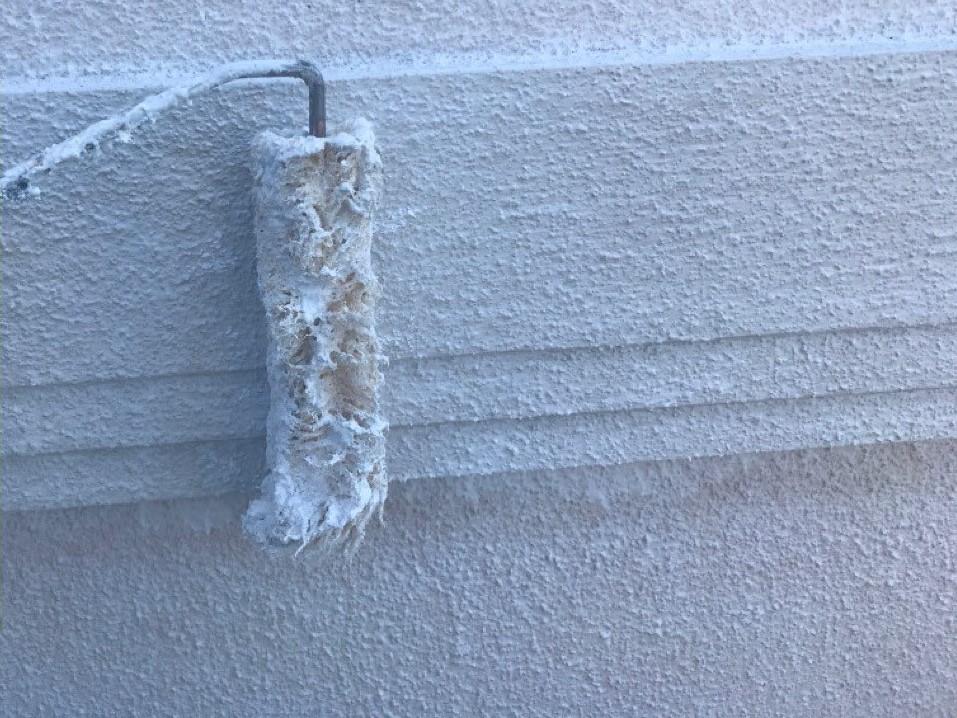 外壁塗装 下塗り 幕板 モルタル プラチナフィラー