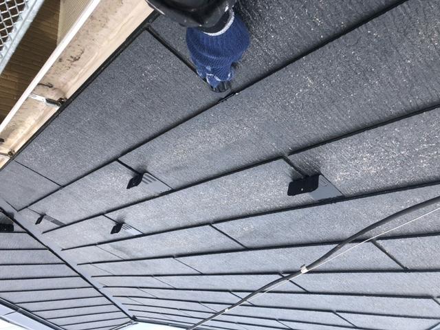 屋根塗装 新生スレート瓦 下塗り ベストシーラー