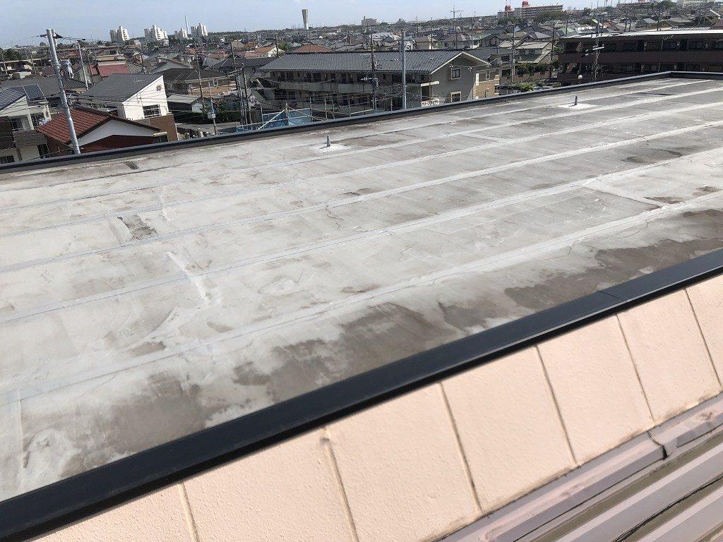 診断 屋上 陸屋根 汚染 劣化