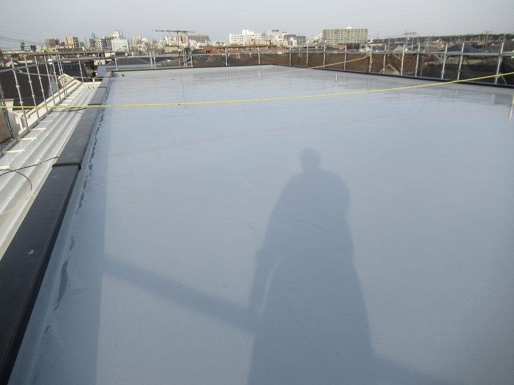 検査 屋上 折板屋根