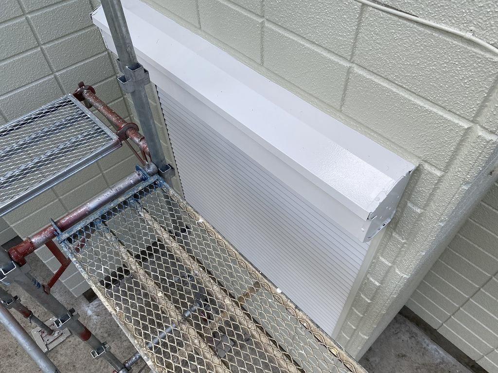 検査 外壁 ALC シャッター