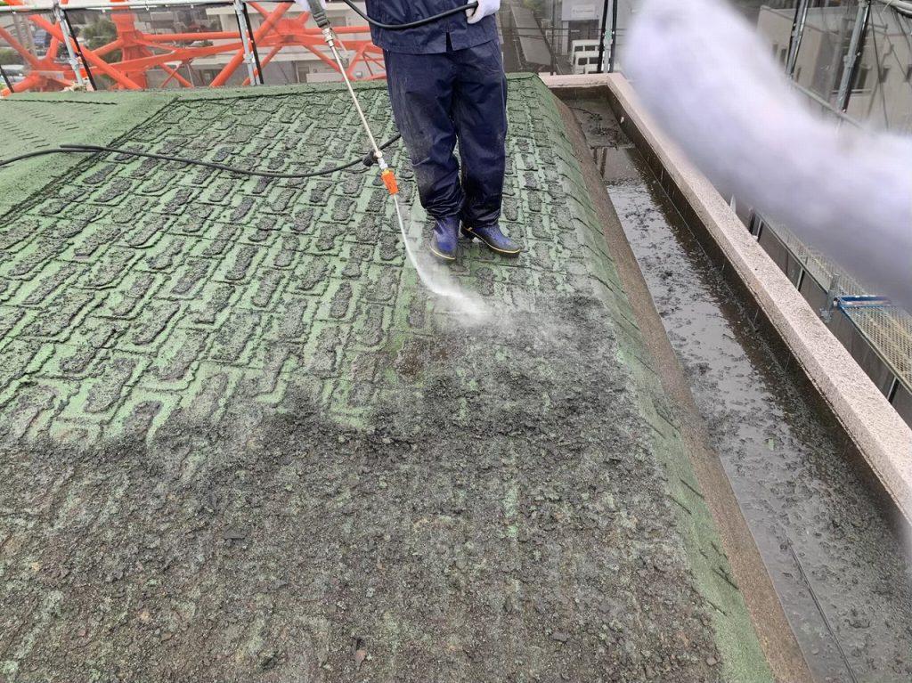 高圧洗浄 外壁塗装 屋根重葺 防水工事