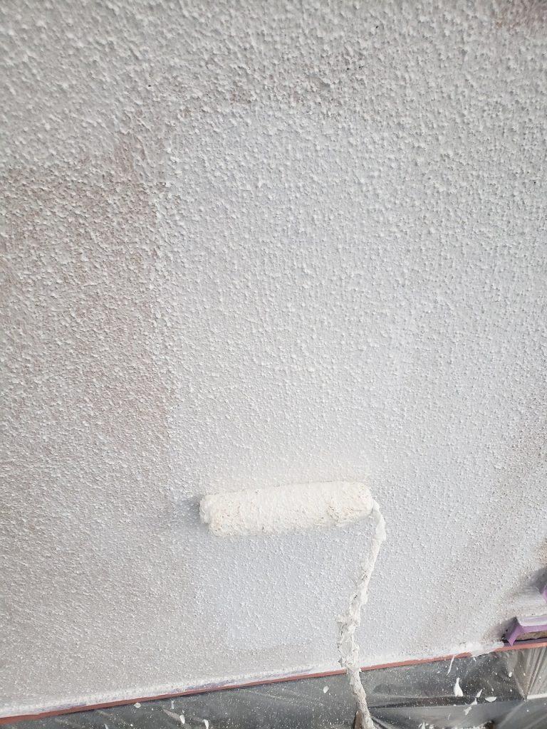 外壁塗装 モルタル 3回塗り 下塗り プラチナフィラー