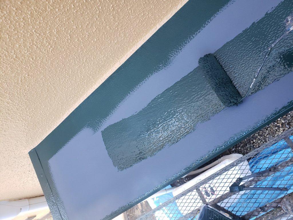 出窓上 鉄部 2回塗り 錆止め ファインパーフェクトトップ