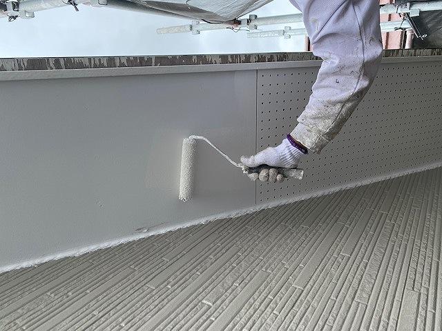 軒天井 ボード 2回塗り マルチエース