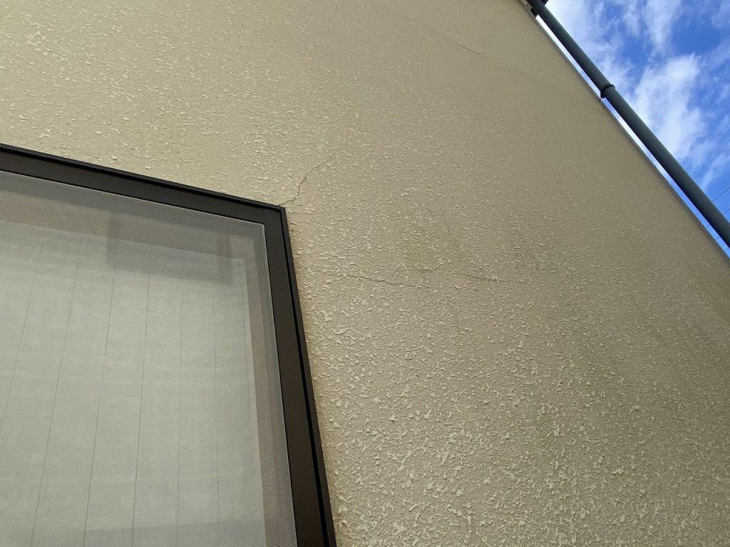 診断 外壁 モルタル 汚染 劣化
