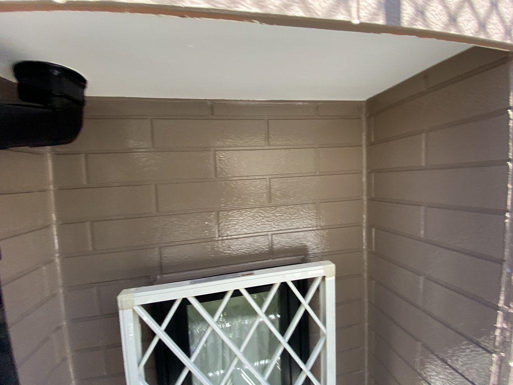 検査 軒天井 外壁 窯業サイディング