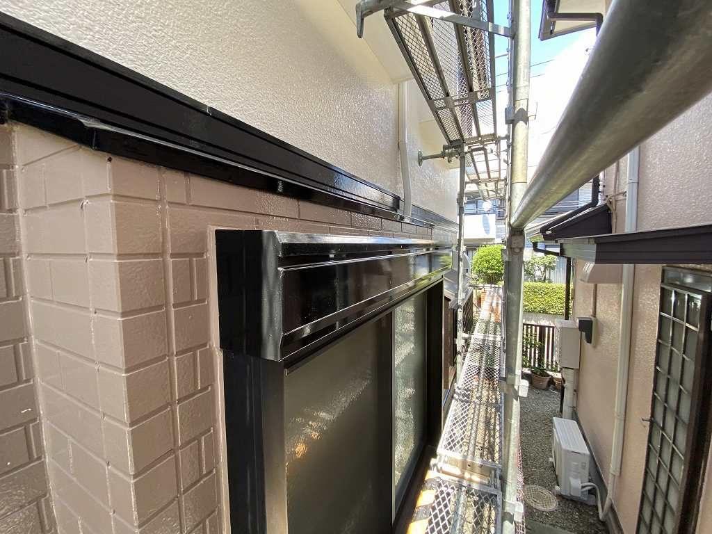 検査 外壁 窯業サイディング 鉄部 シャッター