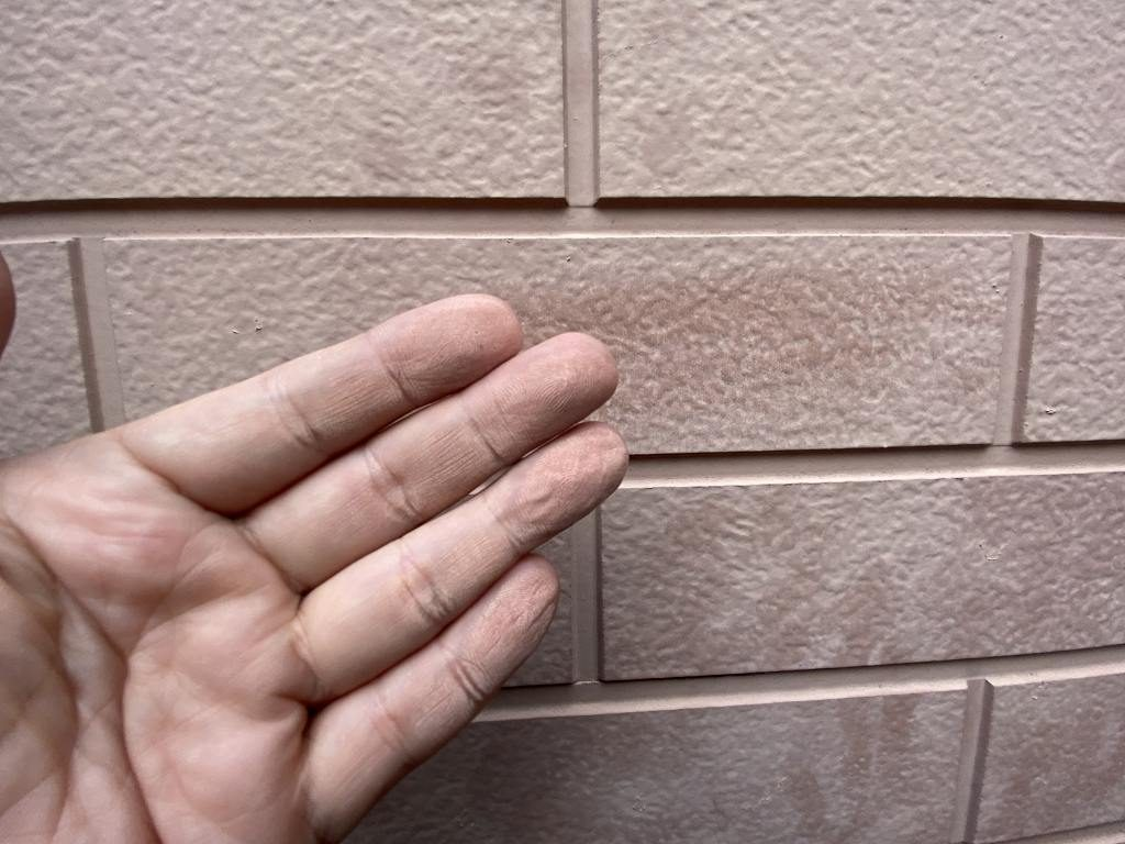 診断 外壁 窯業サイディング モルタル 劣化 汚染 チョーキング