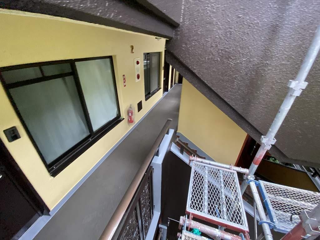 検査 共用部 廊下 階段