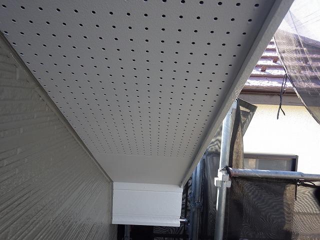 検査 軒天井