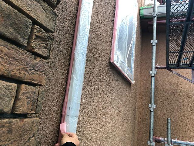 養生 保護 外壁塗装 モルタル