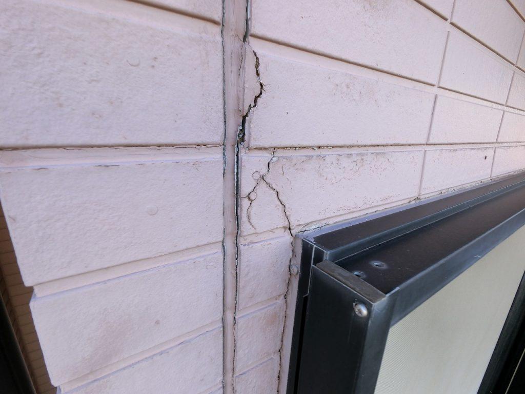 診断 外壁 窯業サイディング シーリング 亀裂 劣化