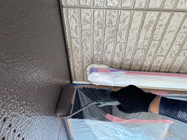 軒天井 2回塗り マルチエース