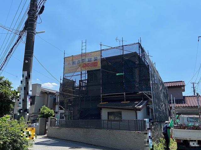 足場 外壁塗装 窯業サイディング 屋根塗装 新生スレート瓦