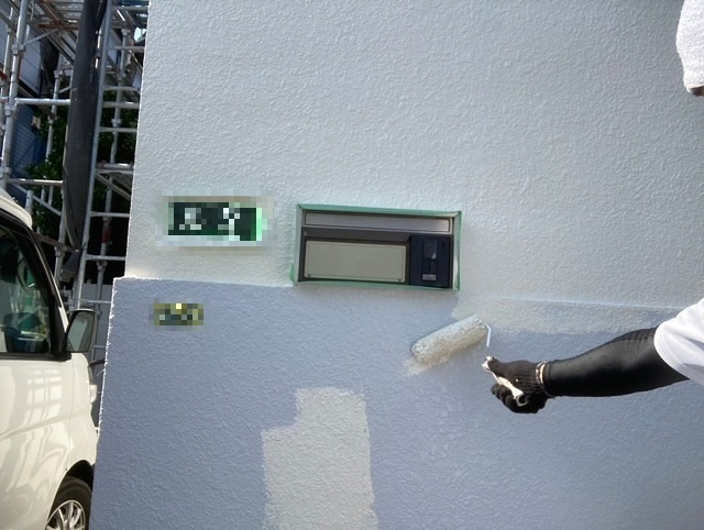 塀塗装 3回塗り ダイナミックトップ