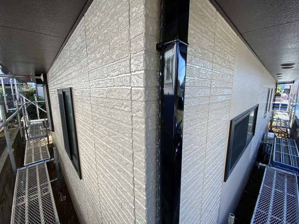 検査 外壁 窯業サイディング 雨樋