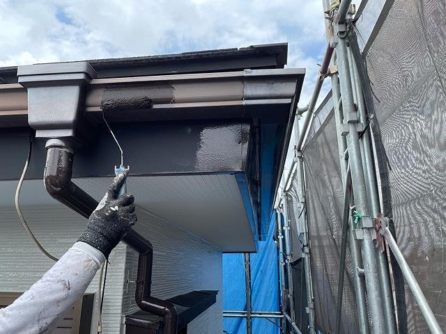 雨樋 2回塗り ファインパーフェクトトップ