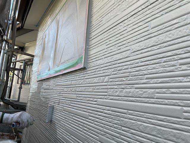 外壁塗装 窯業サイディング 2回塗り 下塗り プラチナ無機バインダー