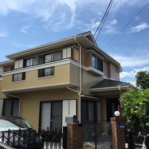 千葉市 Y様邸 外壁塗装 屋根塗装 シーリング工事サムネイル