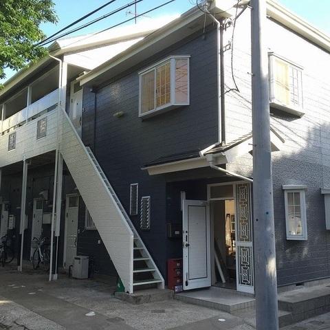 習志野市 アパート外壁・屋根塗装工事サムネイル
