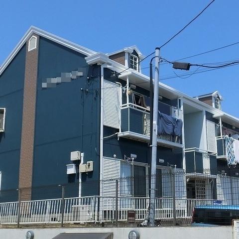 習志野市アパート 外壁一部サイディング張り替え・塗装工事サムネイル