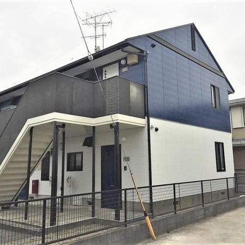 千葉市 アパート外壁・屋根塗装工事サムネイル