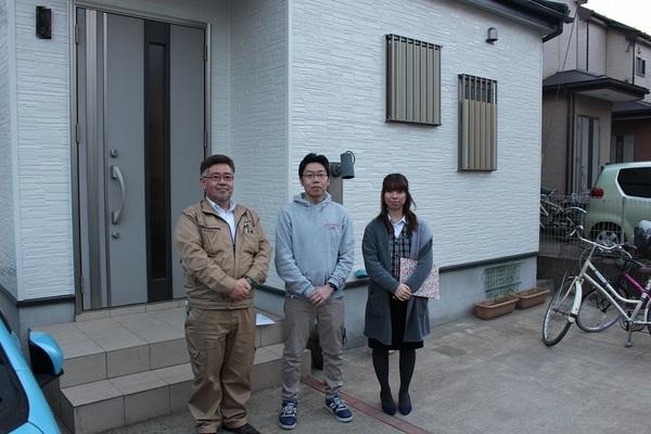 千葉市で外壁塗装、屋根カバー工法をされたL様のご紹介サムネイル