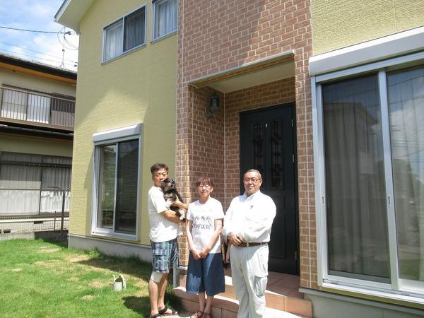 市原市で外壁屋根塗装工事をされたN様邸のご紹介サムネイル