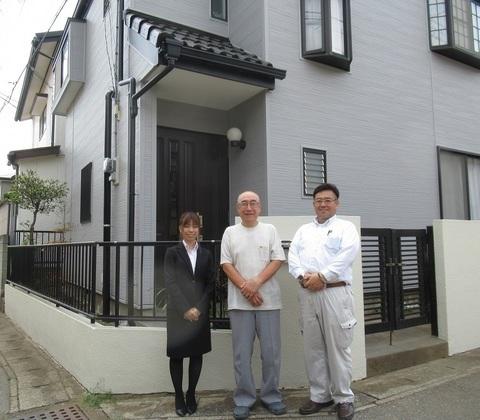 千葉市で外壁改修・屋根塗装・エクステリア工事をされたR様邸のご紹介