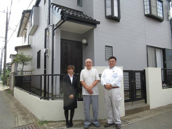 千葉市で外壁改修・屋根塗装・エクステリア工事をされたR様邸のご紹介サムネイル