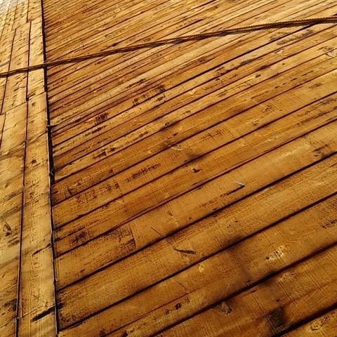 台風被害 某学校体育館屋根解体工事サムネイル
