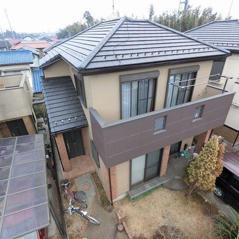 千葉県 I様邸外壁塗装工事サムネイル