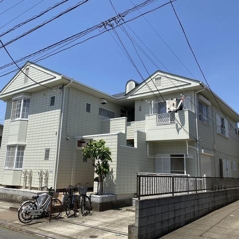 習志野市 アパート 外壁塗装 ALC 屋根塗装 新生スレート瓦 付帯部塗装 ウレタン防水