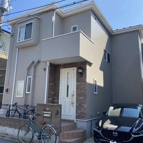 千葉市 外壁塗装 モルタル 屋根重葺 新生スレート瓦 付帯部塗装 FRP防水