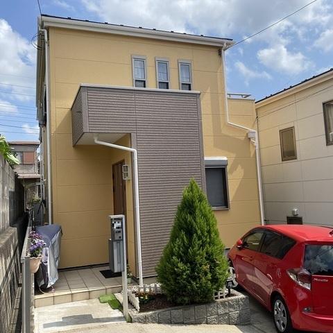 習志野市 外壁塗装 ALC 屋根塗装 新生スレート瓦 付帯部塗装 FRP防水
