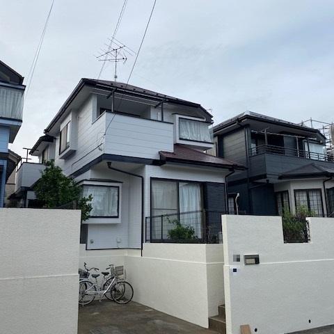 習志野市 G様邸外壁塗装・屋根塗装工事サムネイル